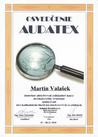 Audatex Certifikáty_0003